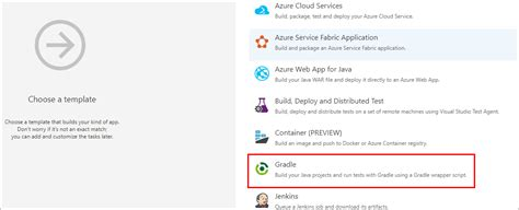 gradle project template install a maven artifact using gradle and vsts microsoft