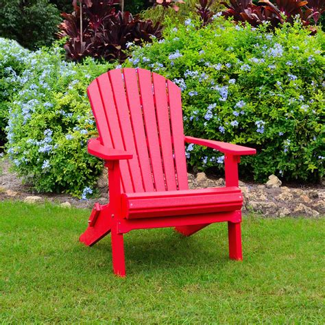 Adirondack Chairs Only by Loggerhead Folding Adirondack Chair Adirondacks Poly