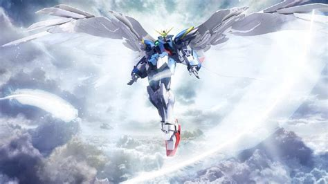 wallpaper of gundam wing gundam wing zero custom wallpapers wallpaper cave
