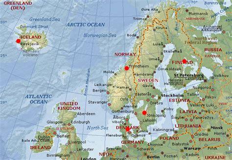 scandinavia map understanding global cultures of minnesota duluth