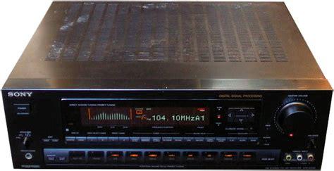 sony str   fi  av amplifiers