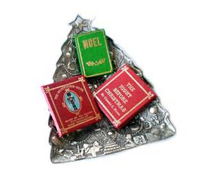 christmas book ornaments tree trimmings christmas by
