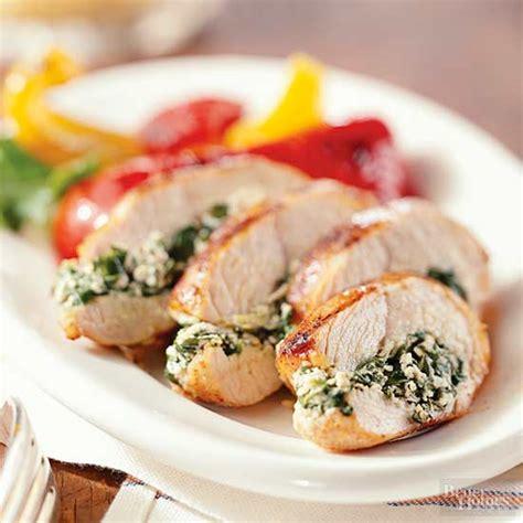 recipes for turkey tenderloin baked spinach stuffed turkey tenderloins