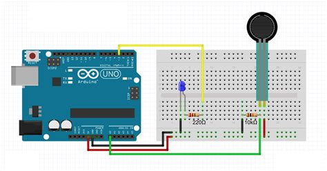sensitive resistor with arduino working with sensitive resistor