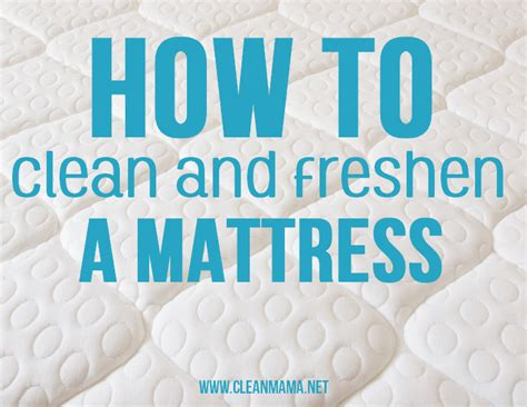 How To Clean Your Mattress by How To Clean And Freshen A Mattress A Bowl Of Lemons