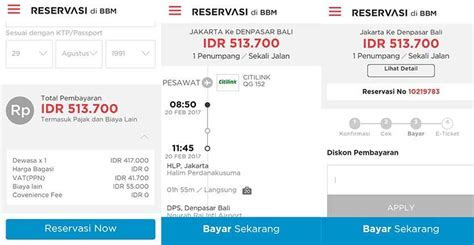 Cara Membeli Tiket Pesawat di BBM Reservasi dengan Diskon