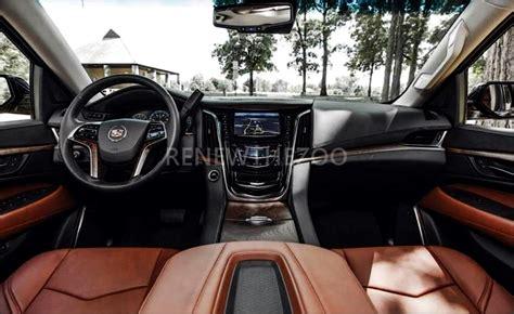 2020 Cadillac Escalade Esv Interior by 2019 Cadillac Escalade Price Changes Redesign Specs