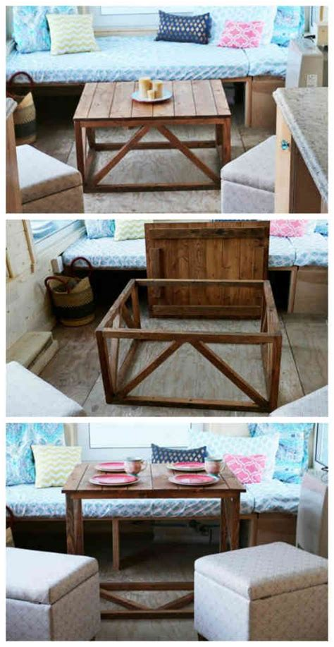Diy Convertible Coffee Table 25 Best Ideas About Convertible Coffee Table On Folding Coffee Table Space Saving