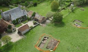 Historic Farmhouse Plans discovery of roman villa ruins plans for ping pong room