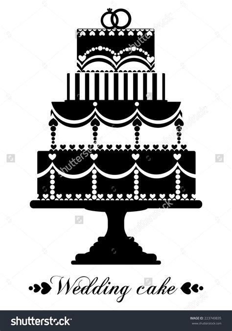 Wedding Cake Vector by Wedding Cake Clipart 76