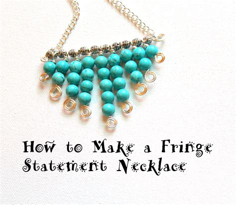 make a statement jewelry how to make a necklace how to make a unique statement
