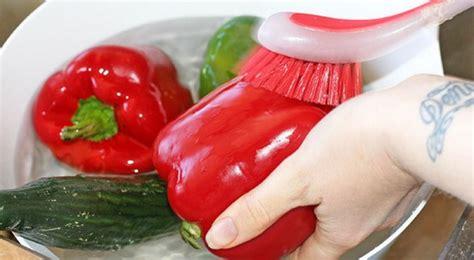 Sikat Sayur Dan Buah Buahan Cara Membersihkan Sayuran Dan Buah Buahan Dari Bahan Kimia