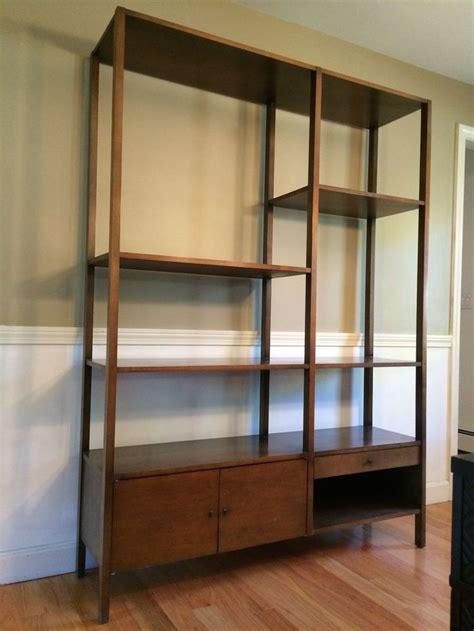 mid century paul mccobb planner room divider etagere