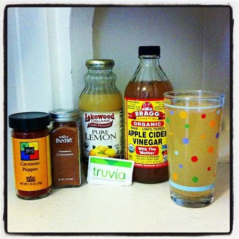Vinegar Cinnamon Honey Detox by Health Benefits Of Apple Cider Vinegar Clear Skin Weight
