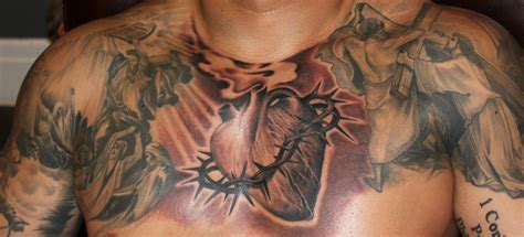 sacred heart tattoo sacred by tony adamson tattoonow