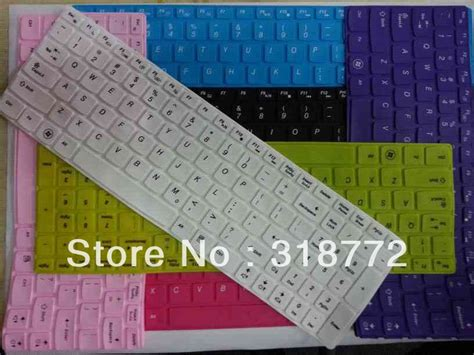 Lenovo Color Keyboard Protectorkeyboard Protektorpelindung Keyboard aliexpress buy solid color keyboard cover skin