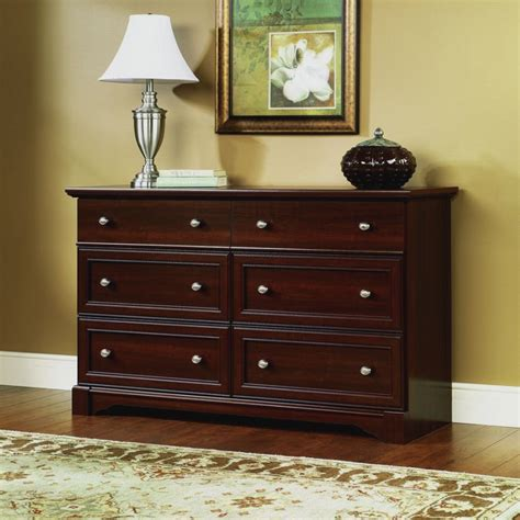 awesome brown wooden cheap dresser for bedroom featuring