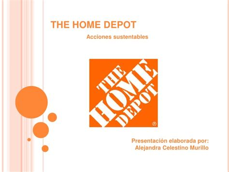 the home depot sustentabilidad