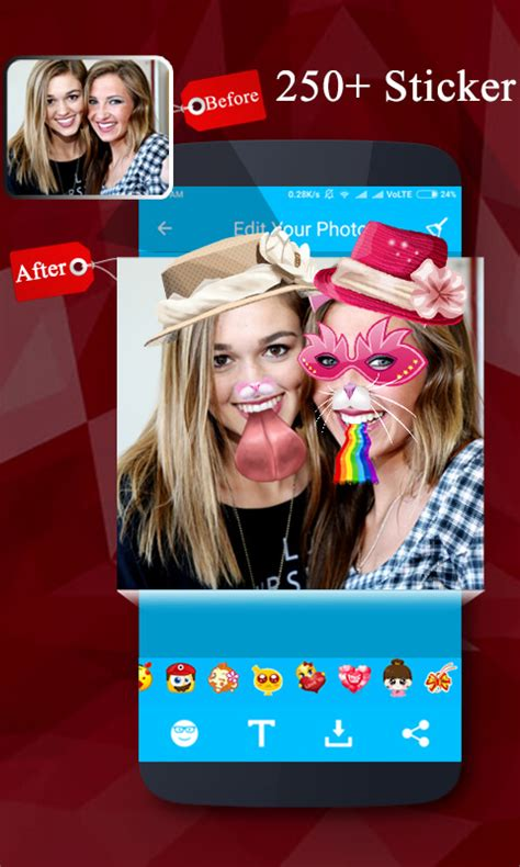 Sticker Photo Editor App