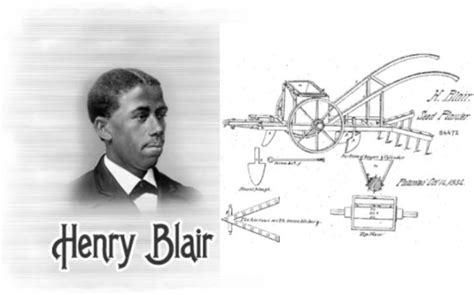 Henry Blair Corn Planter by Henry Blair 2nd Black Inventor Issued A Patent By The U S