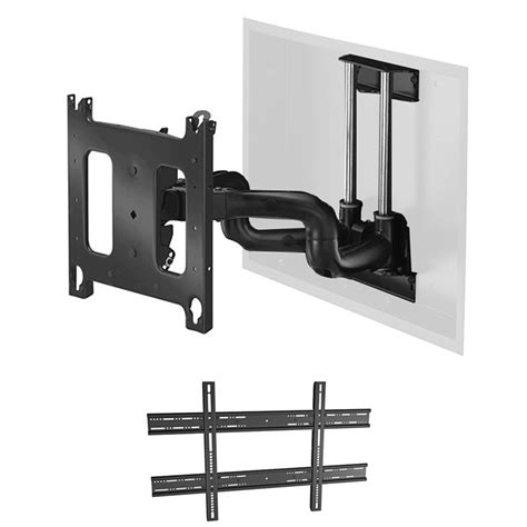 In Swing Arm Wall L by Chief Pnriwub Universal Large Swing Arm In Wall Mount 22