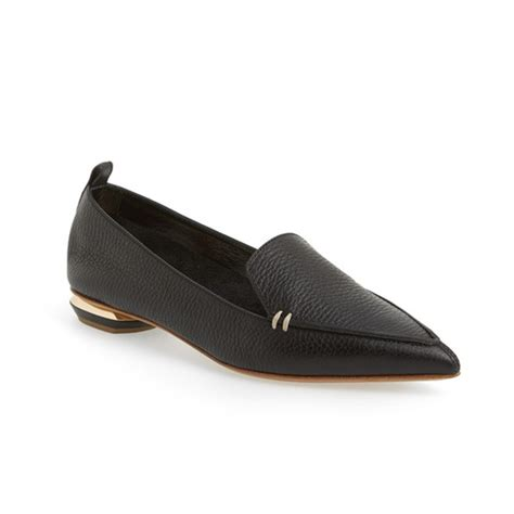 cigarette loafers ivanka pointed toe loafer flats rank style