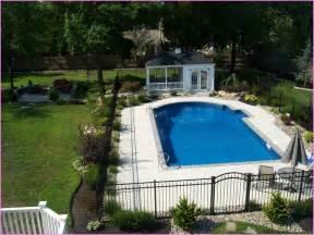 Landscape Ideas Around Inground Pool Inground Pool Landscaping Ideas Landscaping Designs Home