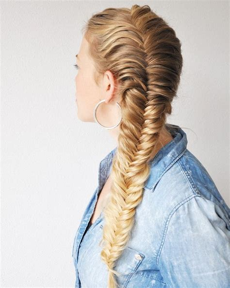 Fish Braids Hairstyles by 40 Awesome Jazzed Up Fishtail Braid Hairstyles