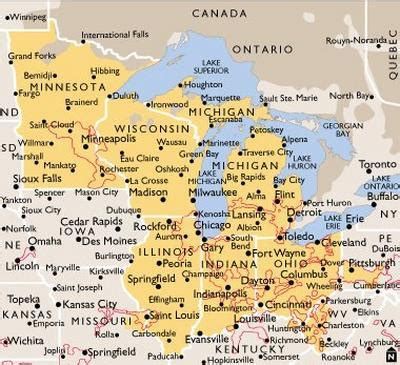 map usa midwest midwest usa map flickr photo