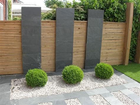 Modern Garden Fencing Ideas Best 25 Modern Landscaping Ideas On Pinterest