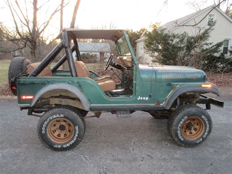 jeep eagle lifted 1979 amc jeep cj 5 golden eagle cj5 4x4 lifted for