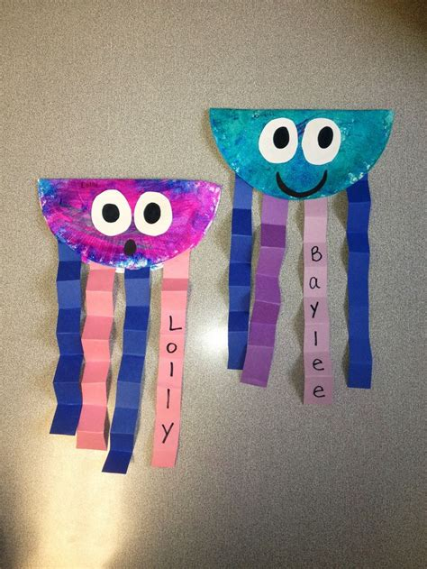 Summer Construction Paper Crafts - 17 best ideas about paper plate jellyfish on