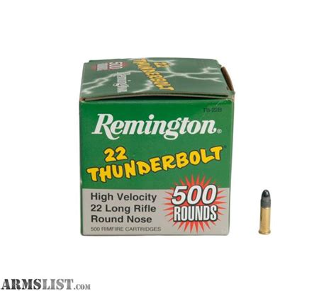 remington thunderbolt 22 ammo object moved