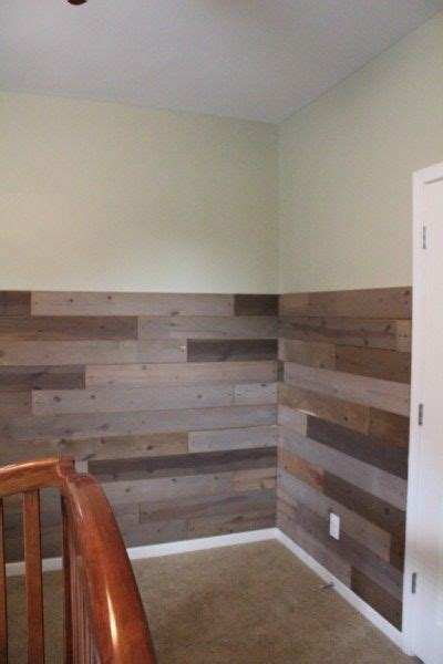 Pallet Wainscoting by Pallet Project Reveal Home Projects Done