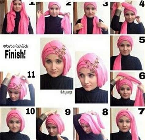 video tutorial hijab pashmina wisuda wong jowo