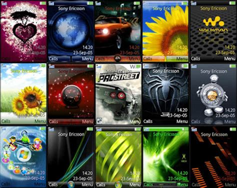 new themes sony free download latest themes for sony ericsson ggetbike