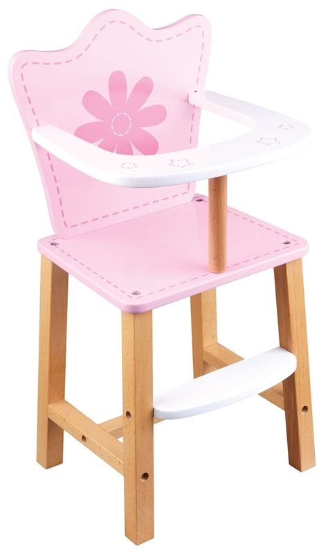 Baby Doll High Chairs by Lelin Childrens Pretend Play Baby Doll House Feeding High