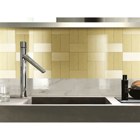 Peel And Stick Tile Around Fireplace by Smart Tiles Peel And Stick Sand Mosaik Decorative Wall Tile Home Depotpeel And Stick Backsplash