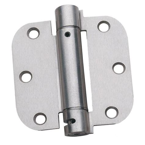 satin nickel hinges everbilt 3 1 2 in x 5 8 in satin nickel radius door