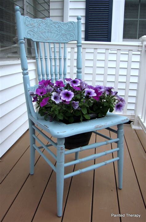 Chair Planter by Painted Therapy The Chair Planter