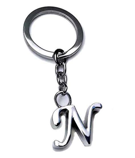 alphabet for keychains onlinemaniya metal alphabet n keychain for buy