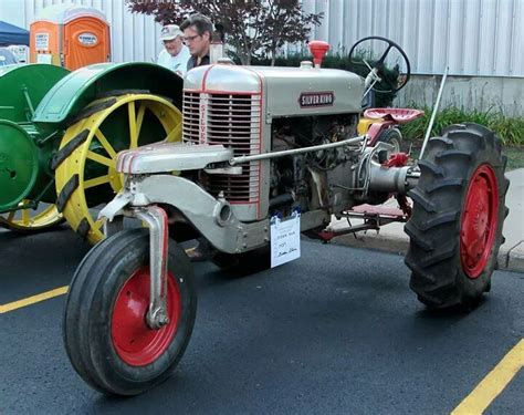 Wheels 40 Ford Item 694 strange farm equipment 1950 silver king farm tractor