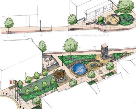 Landscape Architecture Graphics Vandewalle Associates Inc Landscape Architecture