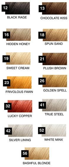 roux hair color roux fanci color chart brown hairs