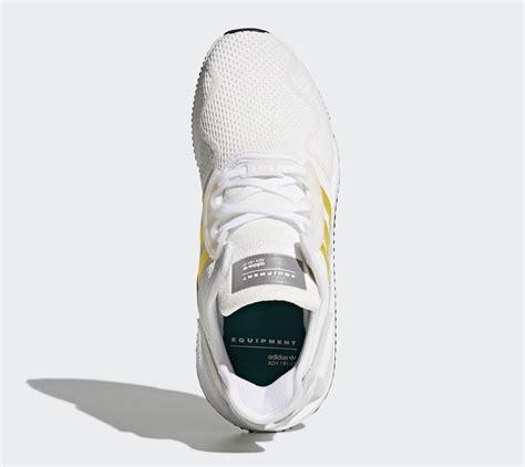 Adidas Eqt Cushion Pack Black White adidas eqt cushion adv yellow stripes cq2375 cq2999 sneaker bar detroit