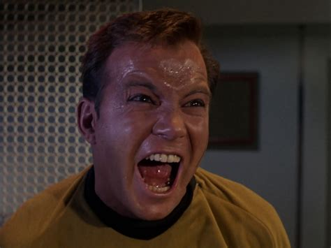 Star Trek Captain Kirk Meme - trek a day the enemy within hey wha happen