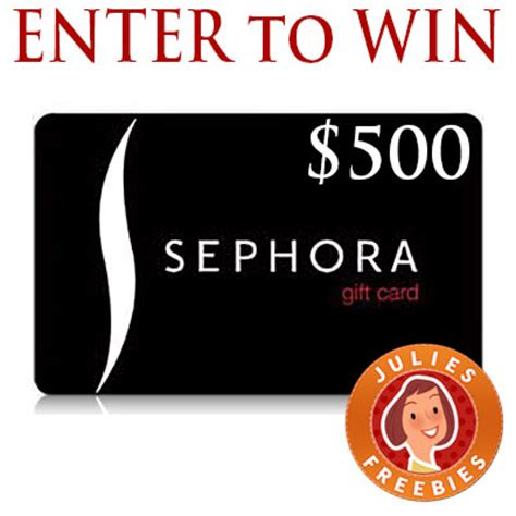 What Is Sephora Sweepstakes - enter to win 1 of 3 500 sephora cards from bing rewards julie s freebies