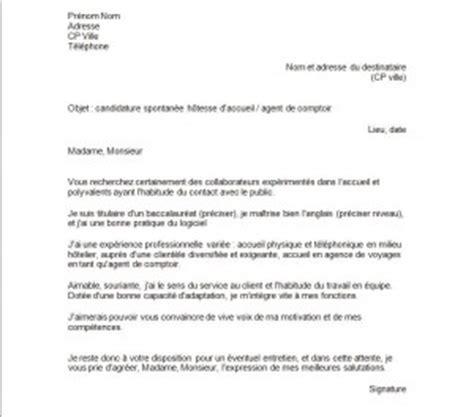 Modèle Lettre De Voyage Lettre De Motivation Pour De L Accueil Exemples De Cv