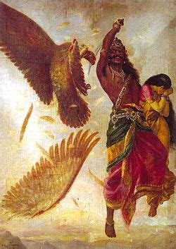 Sandal Ravana by Ramayana