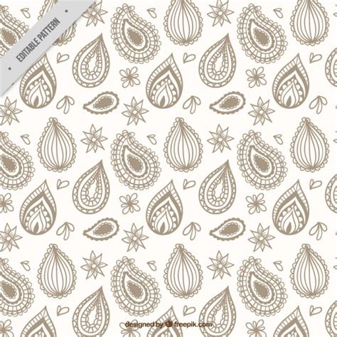 paisley pattern ai free sketches paisley cute pattern vector free download
